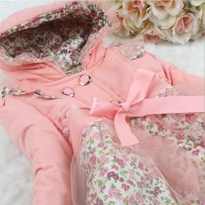 Flower & Lace- Pink