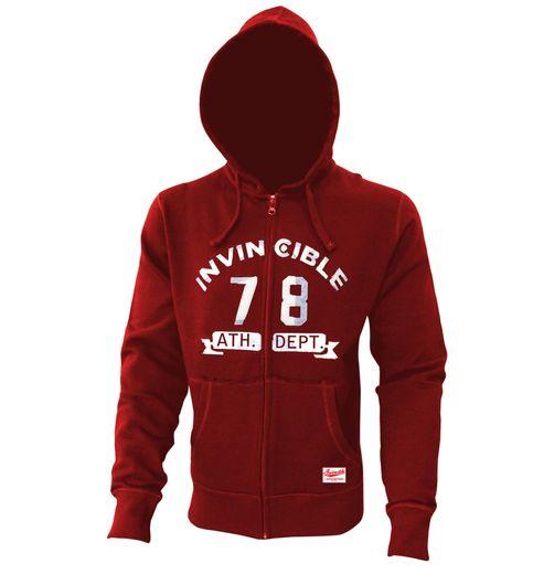 Invincible Zip-Up Cotton Fleece hoody