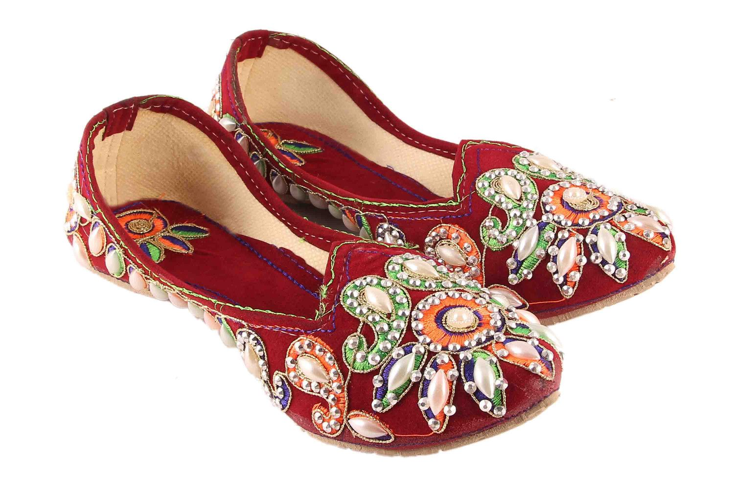 for sale cheap real discounts VINAYAK COLLECTION Maroon Flats deals for sale order cheap online discount wide range of 47PkqTbx