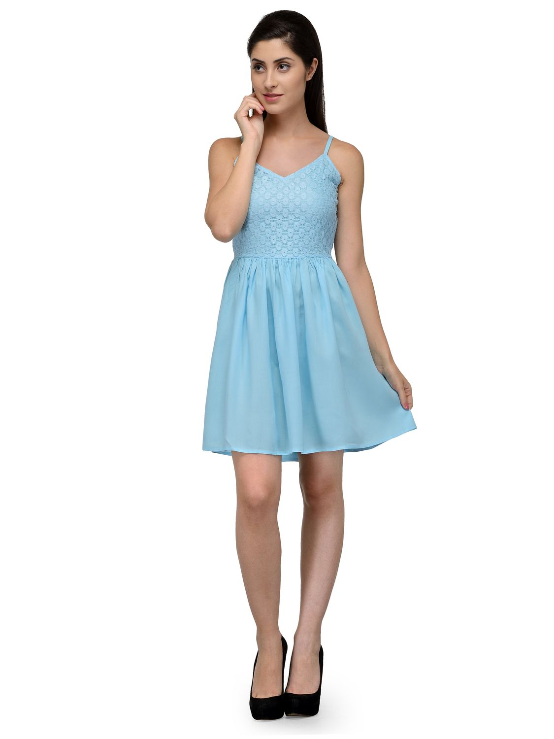 Buy Knee Length Dresses Online in India at Best Prices - Kraftly