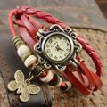 New Stylish Vintage Red Watch