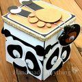 Handmade Kung Fu Panda Birthday Explosion Gift Box