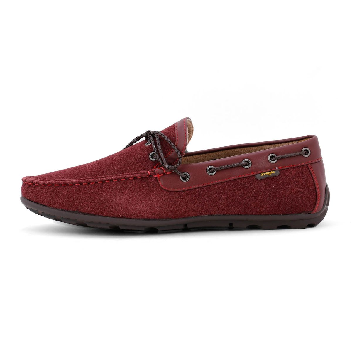 Froskie Casual Smart Party Wear Burgundy Loafers FR-011-Burgundy