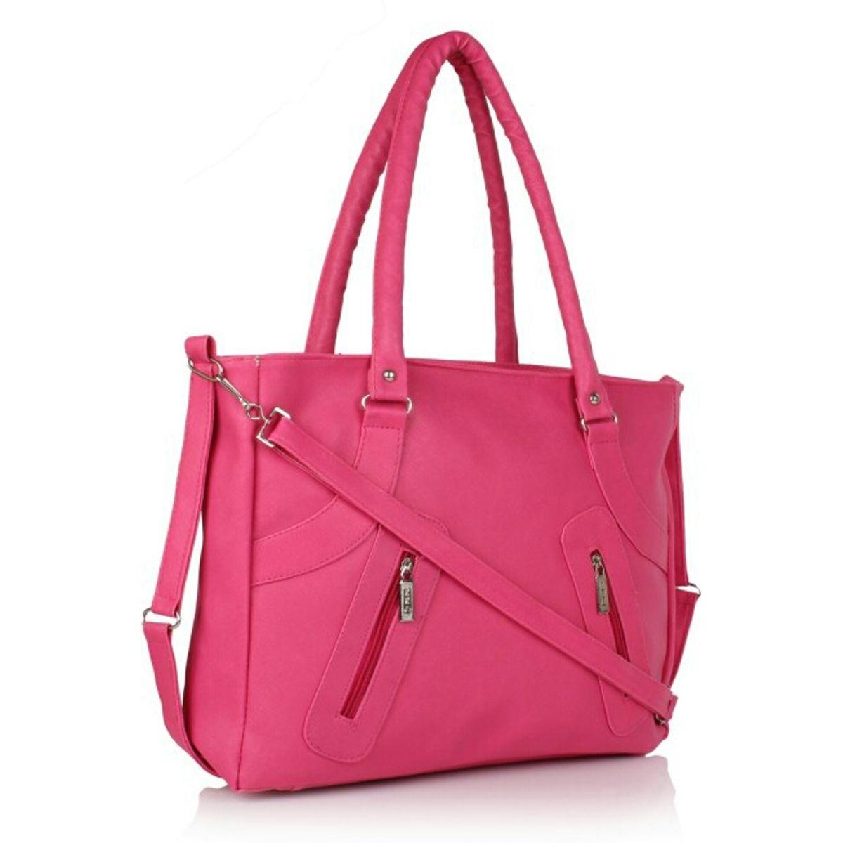 Bellina Longbelt Series Pink Shoulder bag