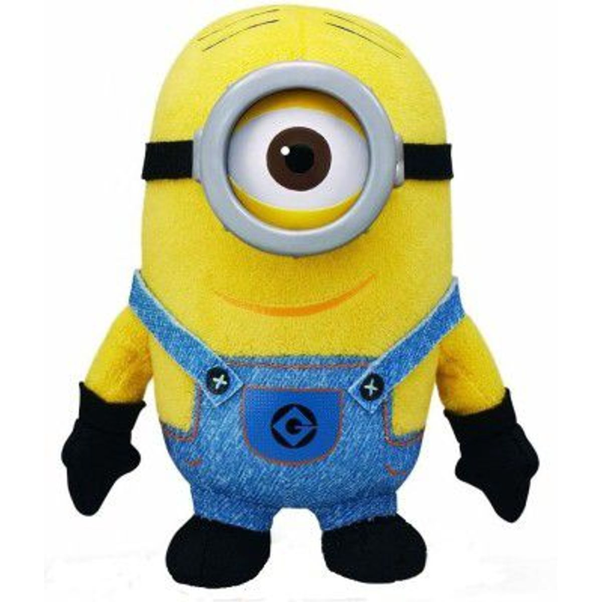 Kuhu Creations Yellow Single Eye Doll Plush Cartoon Toy