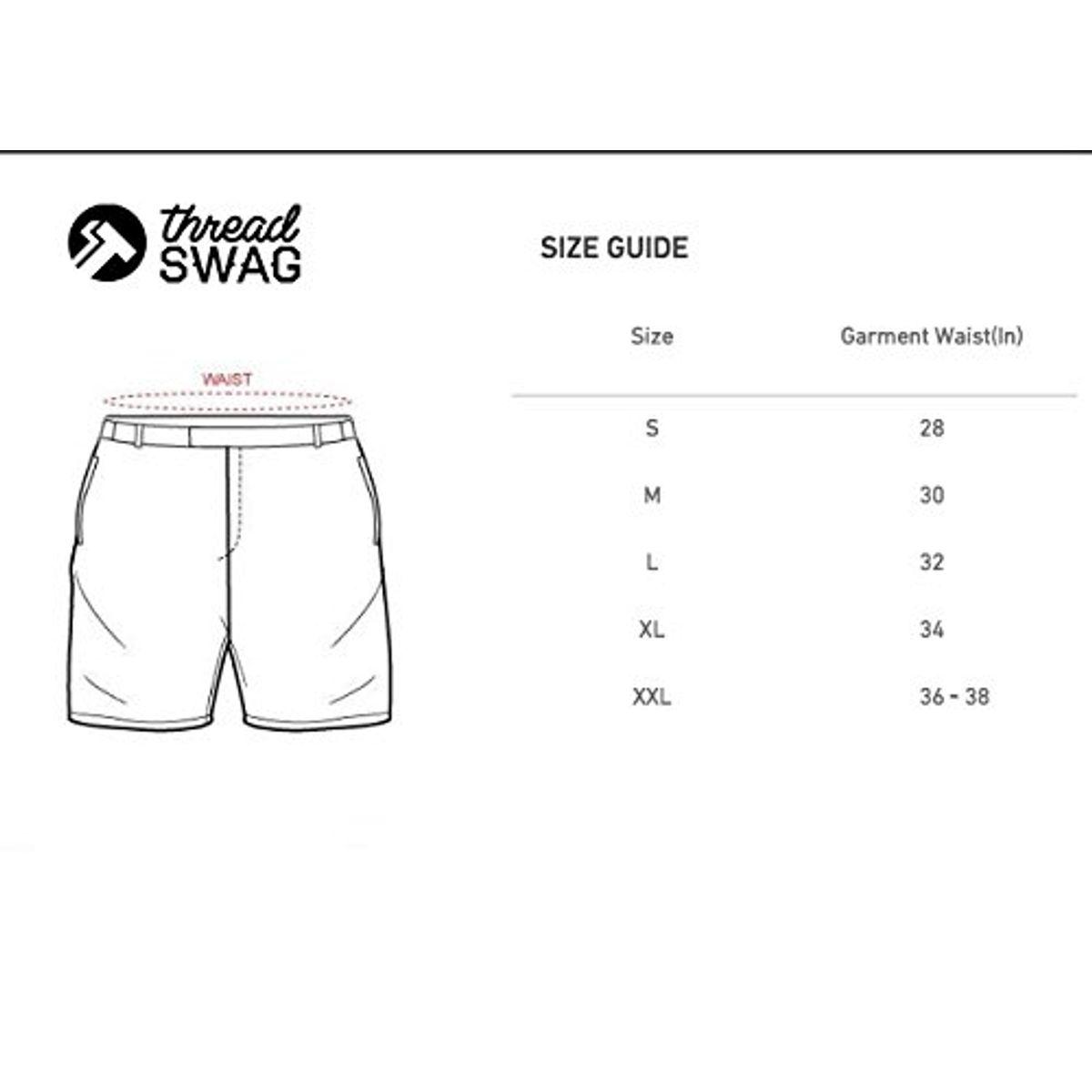 Thread Swag Mens Cotton Shorts With Zipper Pockets Navy