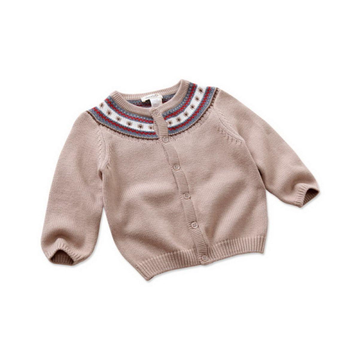 Brown designer cardigan
