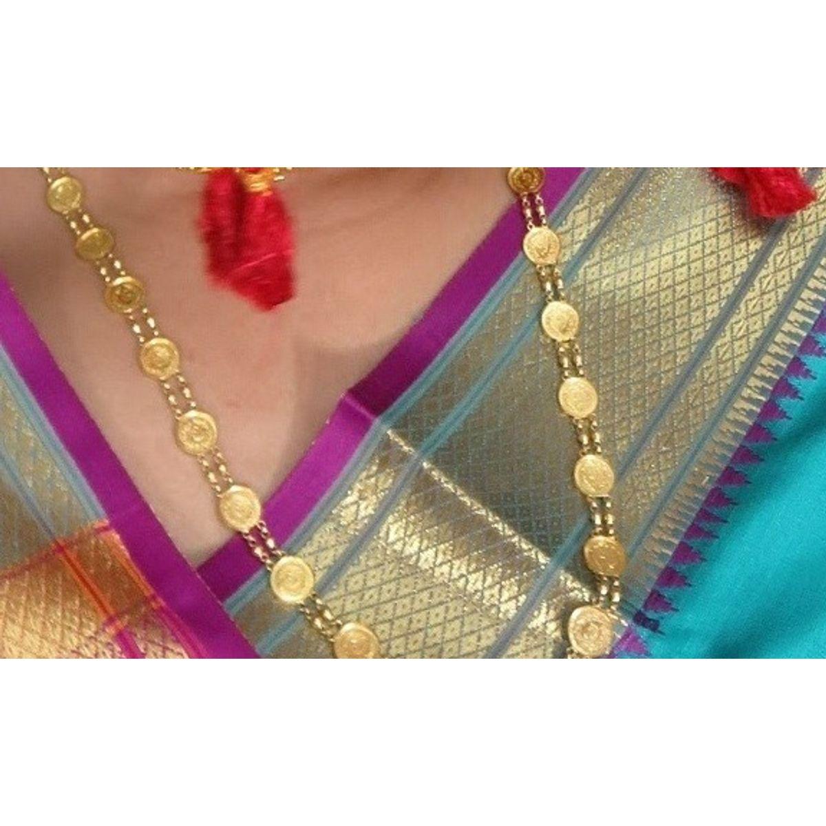 Charming Maharashtrian Gold Necklace Designs Photos - Jewelry ...