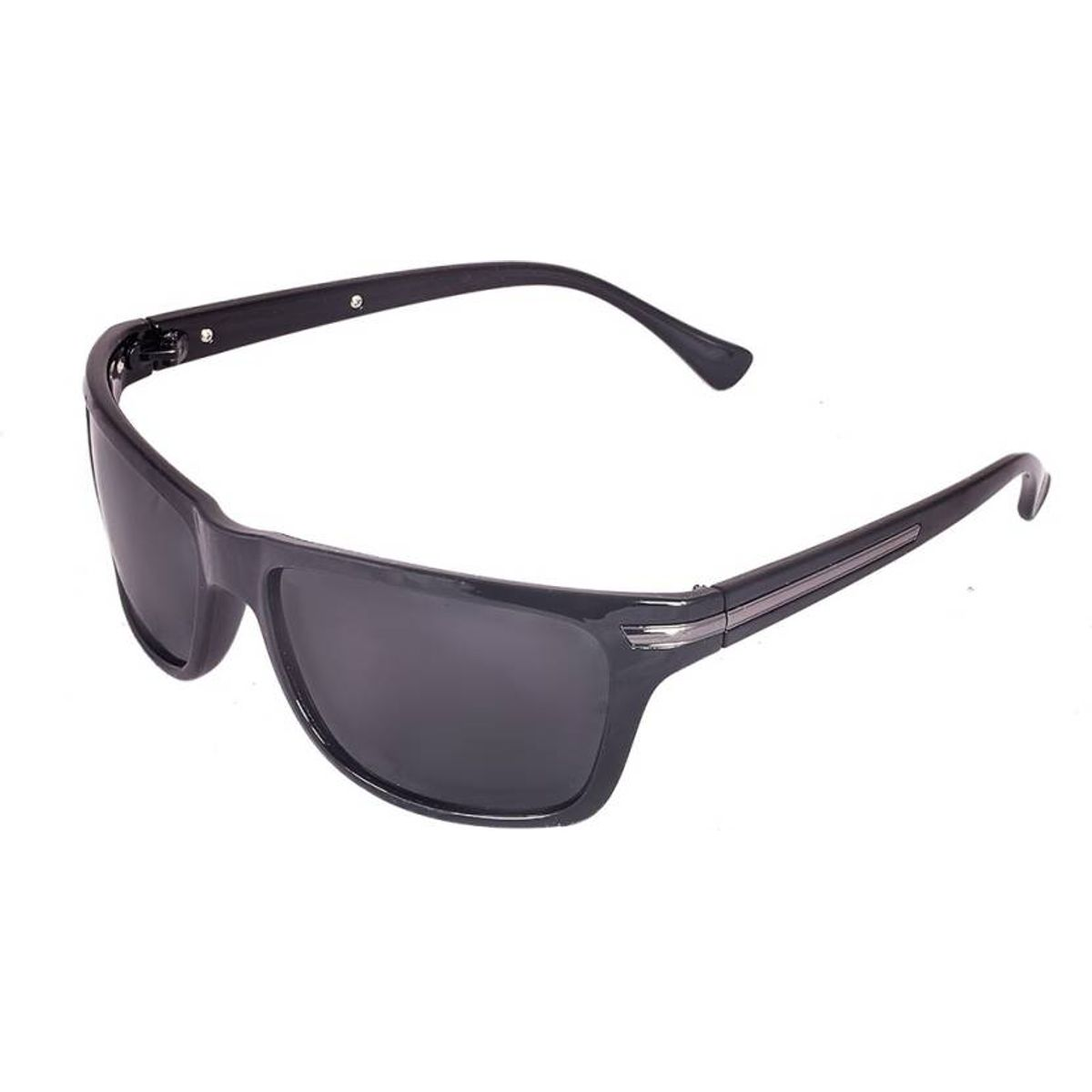 Terry Ford P525 Black Rectangular Sunglasses