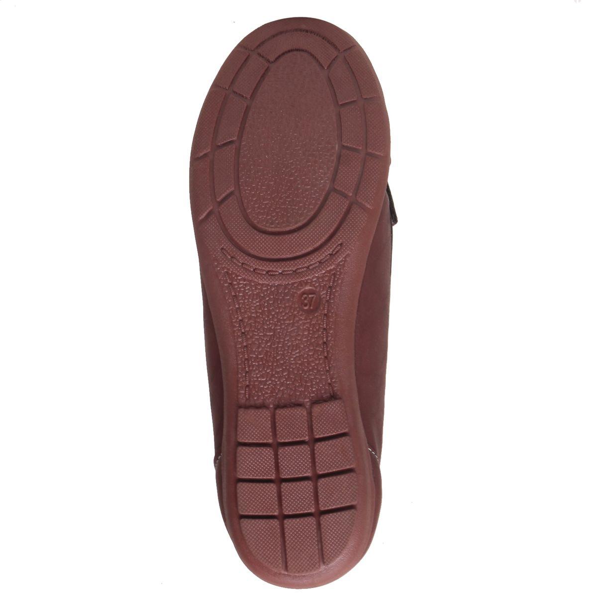 MSC Women Copper Synthetic Loafer1