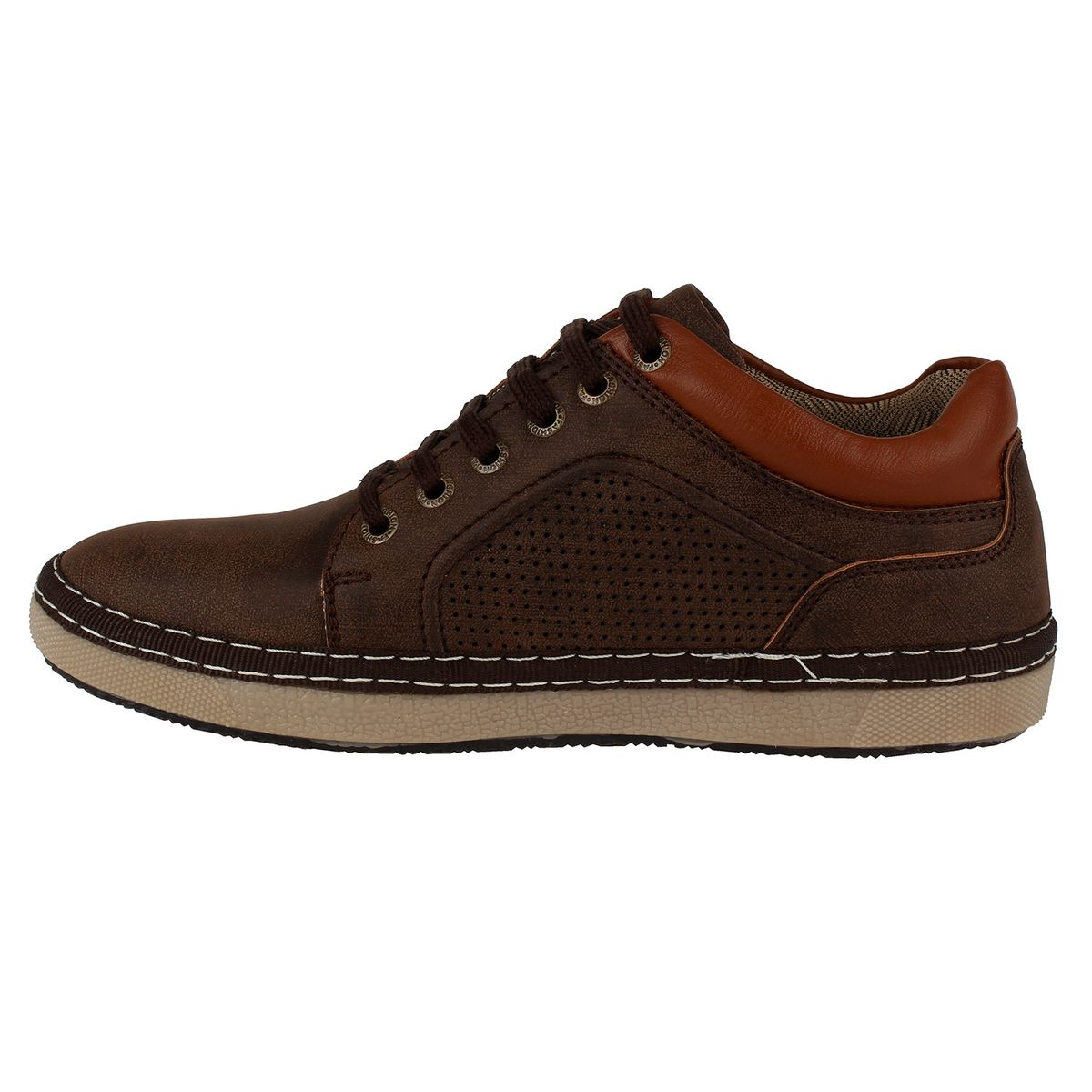 Sindrella Steps Brown Casual Shoes For Men