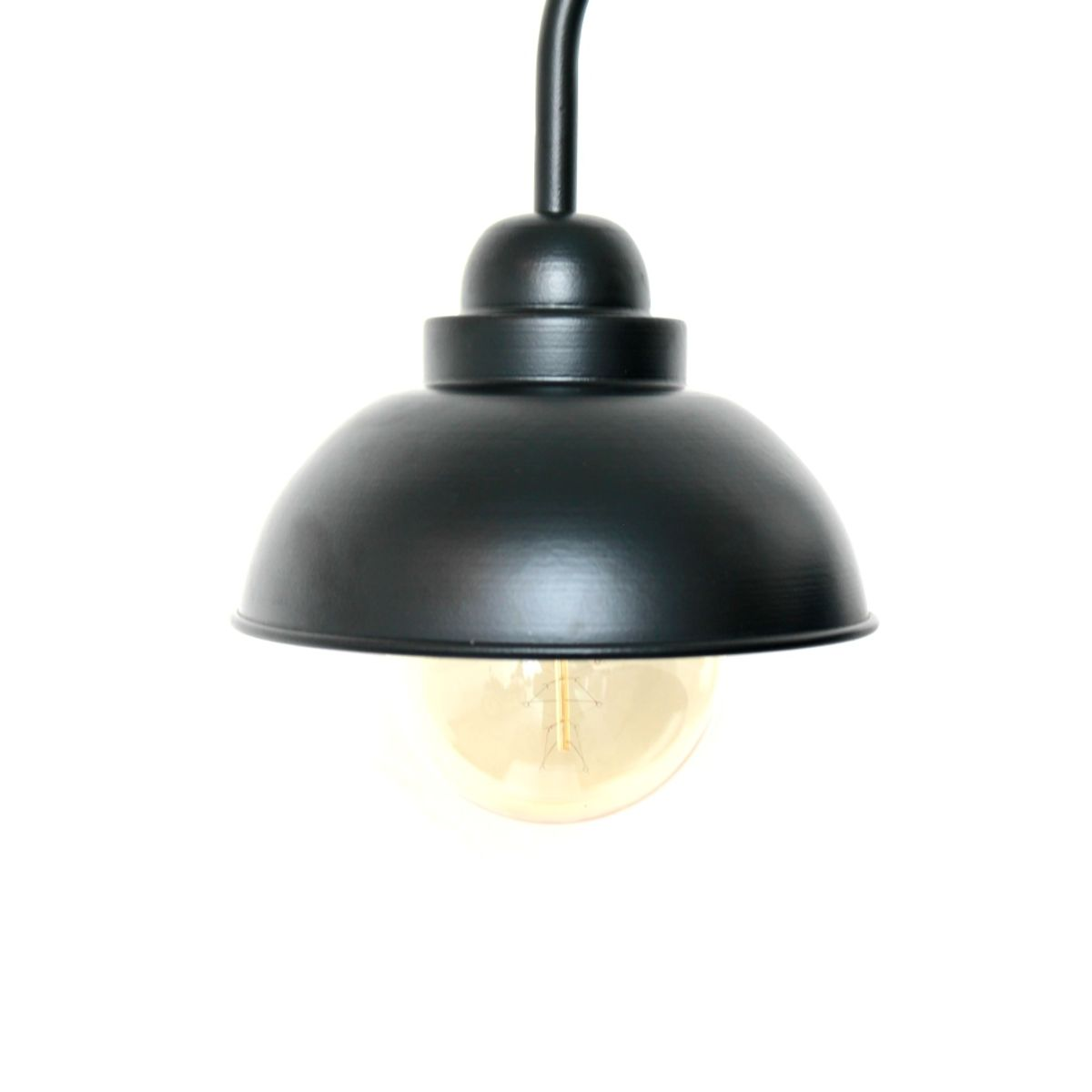 Marical Black Dome Wall Light