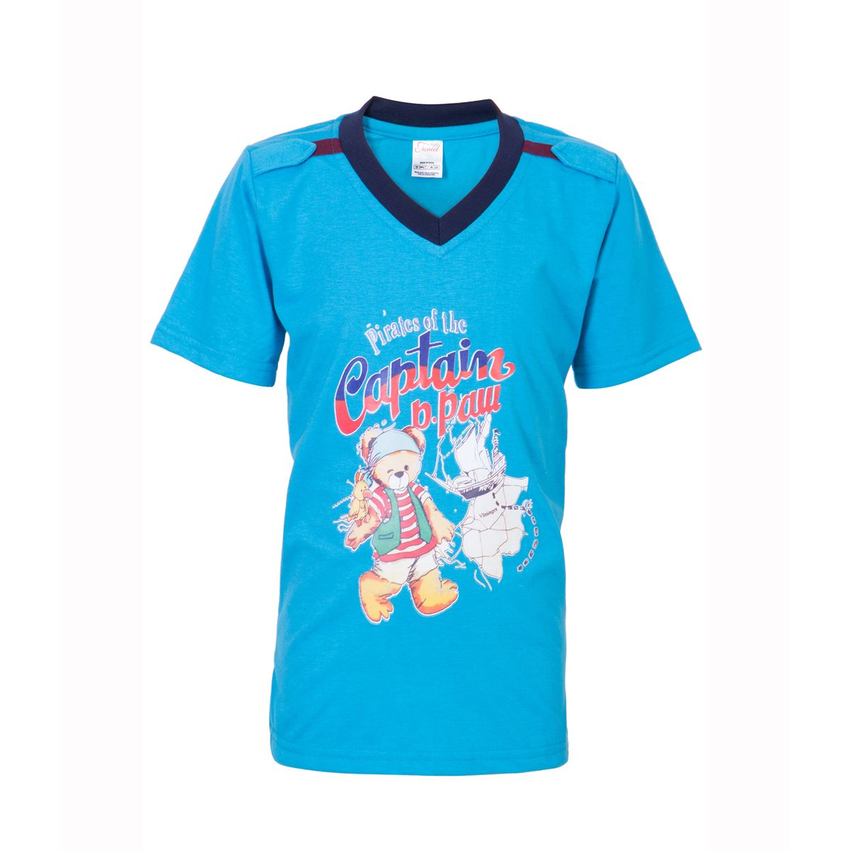 Ultrafit Junior Boys Cotton Multicolored T-Shirt- Pack of 3196