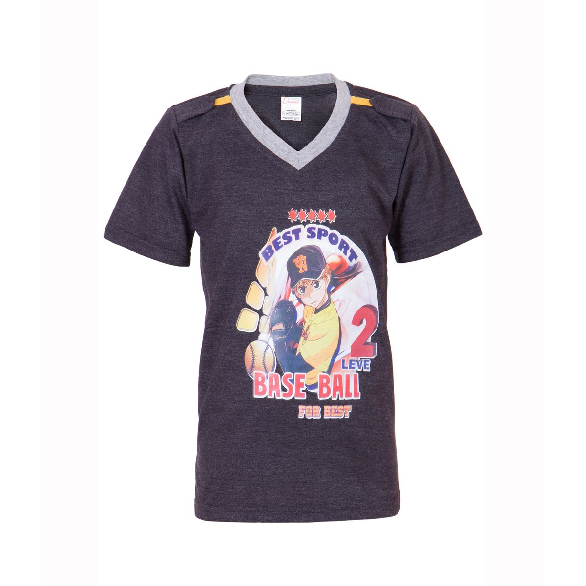 Ultrafit Junior Boys Cotton Multicolored T-Shirt- Pack of 2183