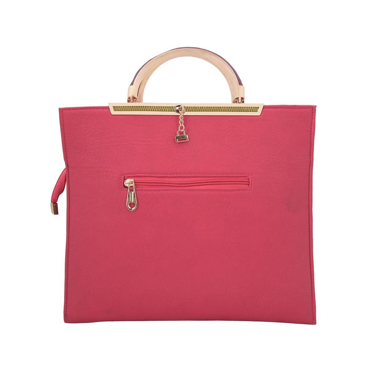 The Blue Pink Ashley Red Women Handbag ASH-03
