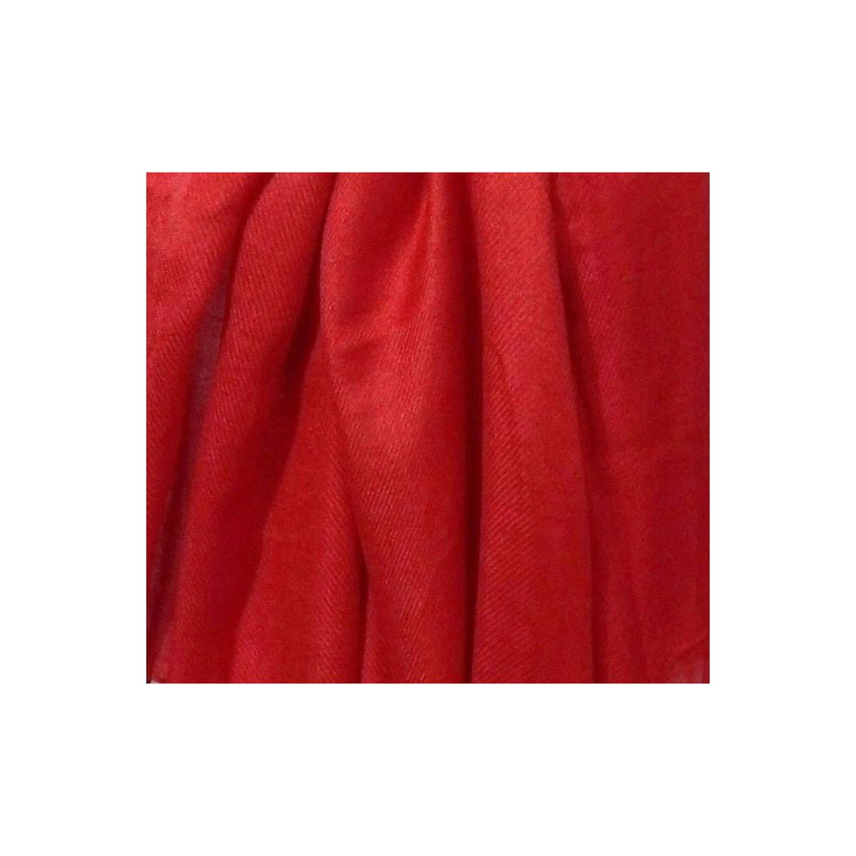 Muumuu Solid Red Viscose Womens Stole