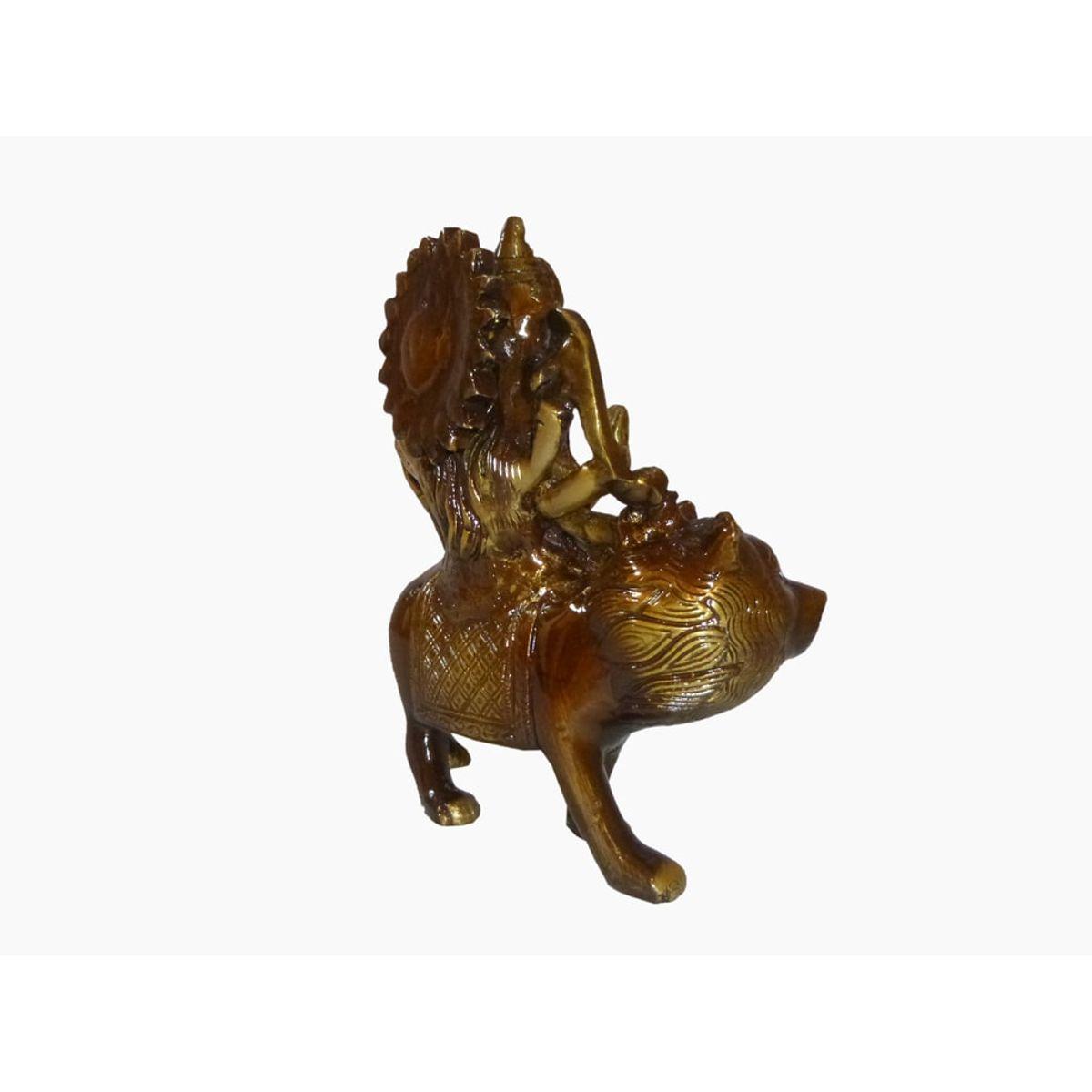 Craftofy Brass Idol Of Godess Durga