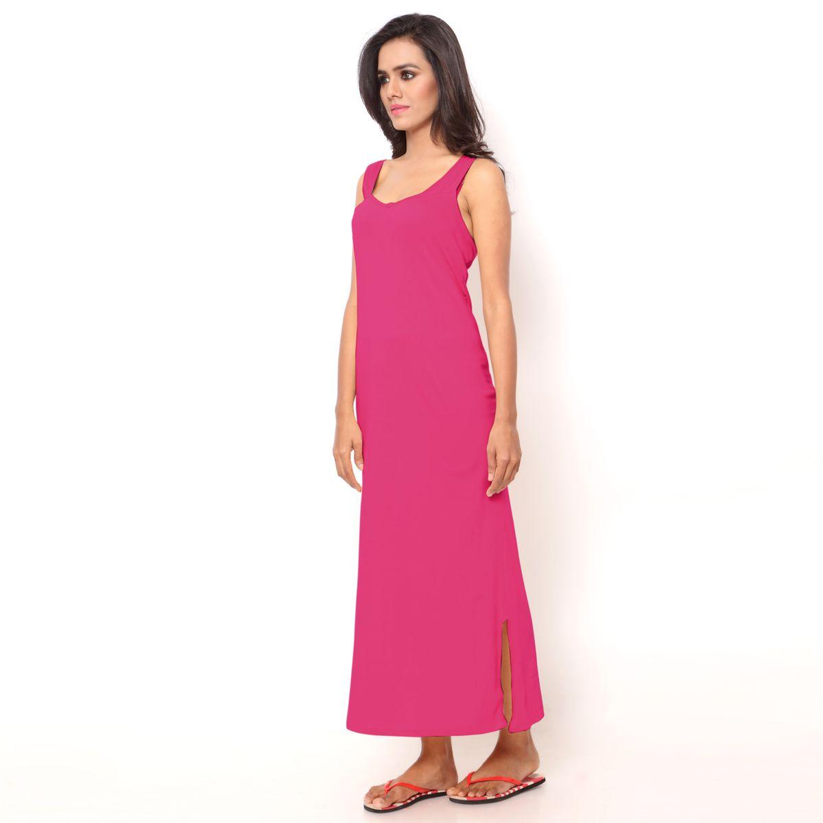 ... release date da26d 1dc9b Ziya Pure Cotton Dark Pink Sleeveless Nighty  Pack Of 3 ... e0da80640