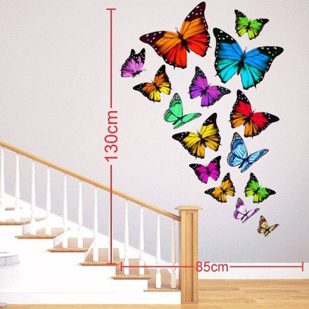 Large Wall Stickers Sticker  Pack of 1