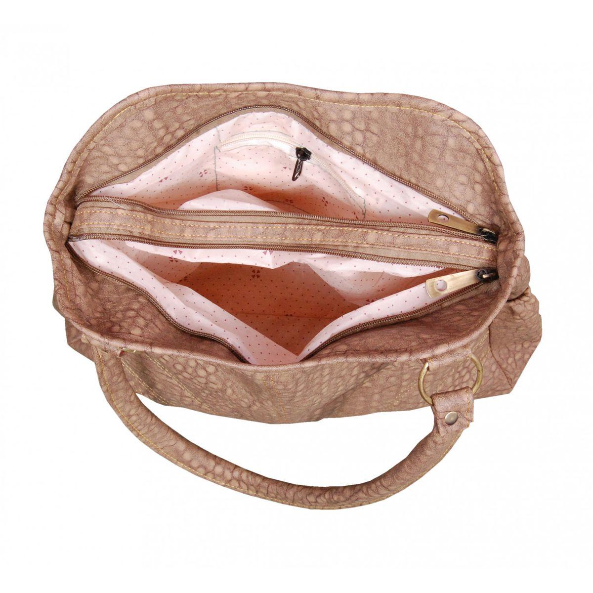 Azzra Brown Handbag for Women and Girl