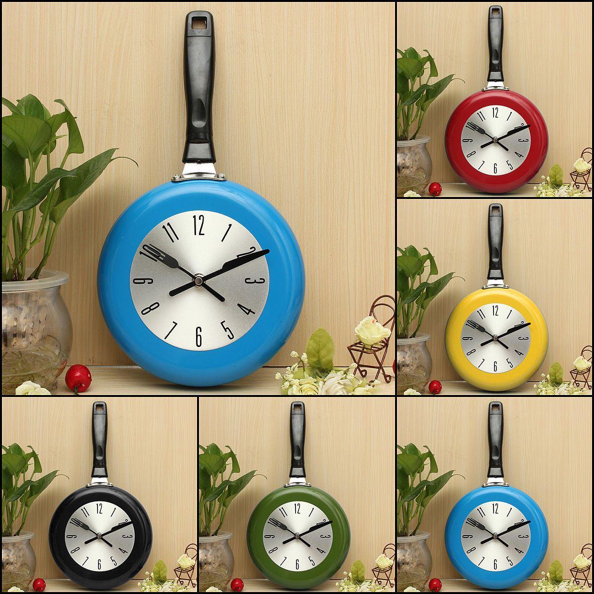 GeekGoodies Frying Pan Tawa Wall Clock