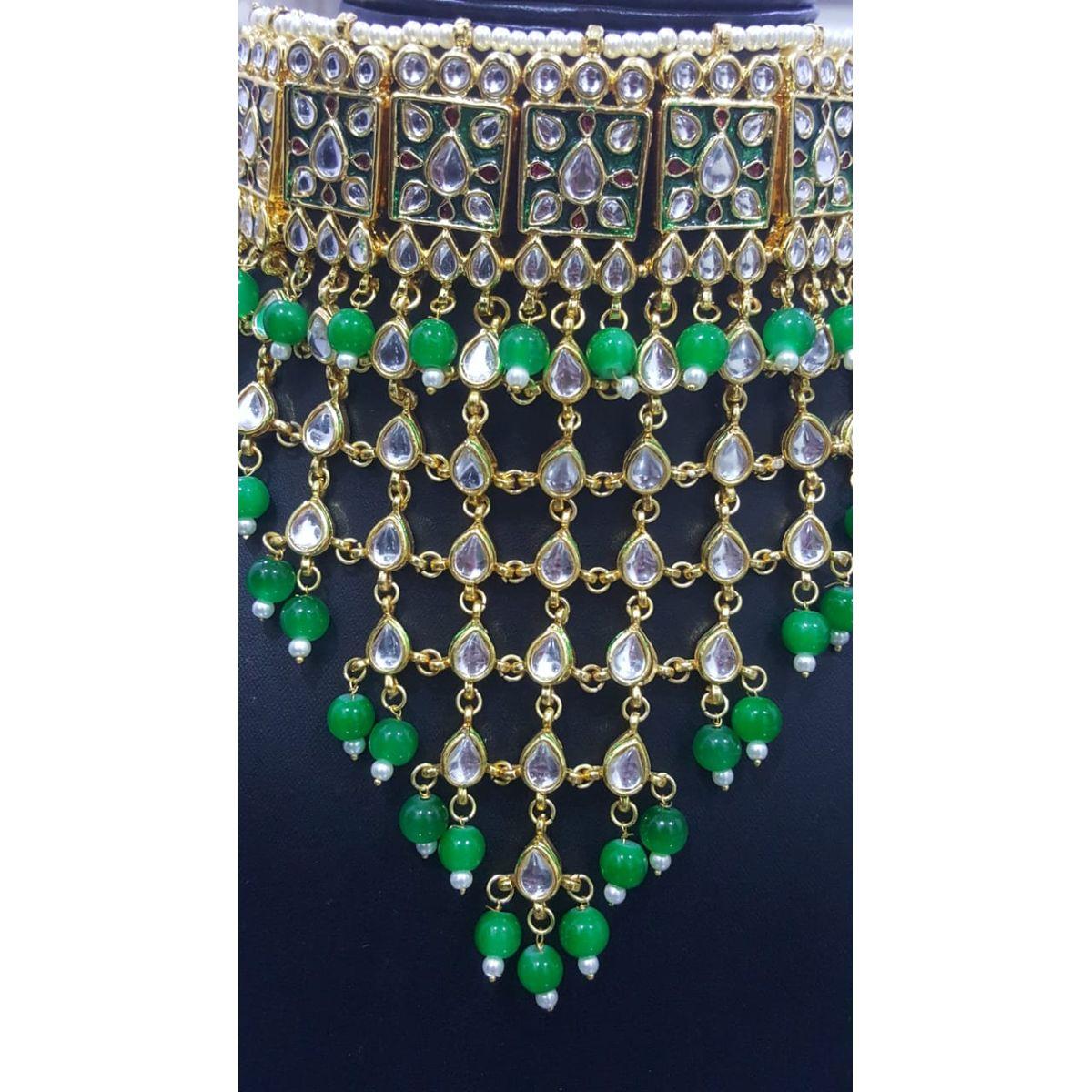 A2 Fashions Padmavati Inspired Kundan Choker Set