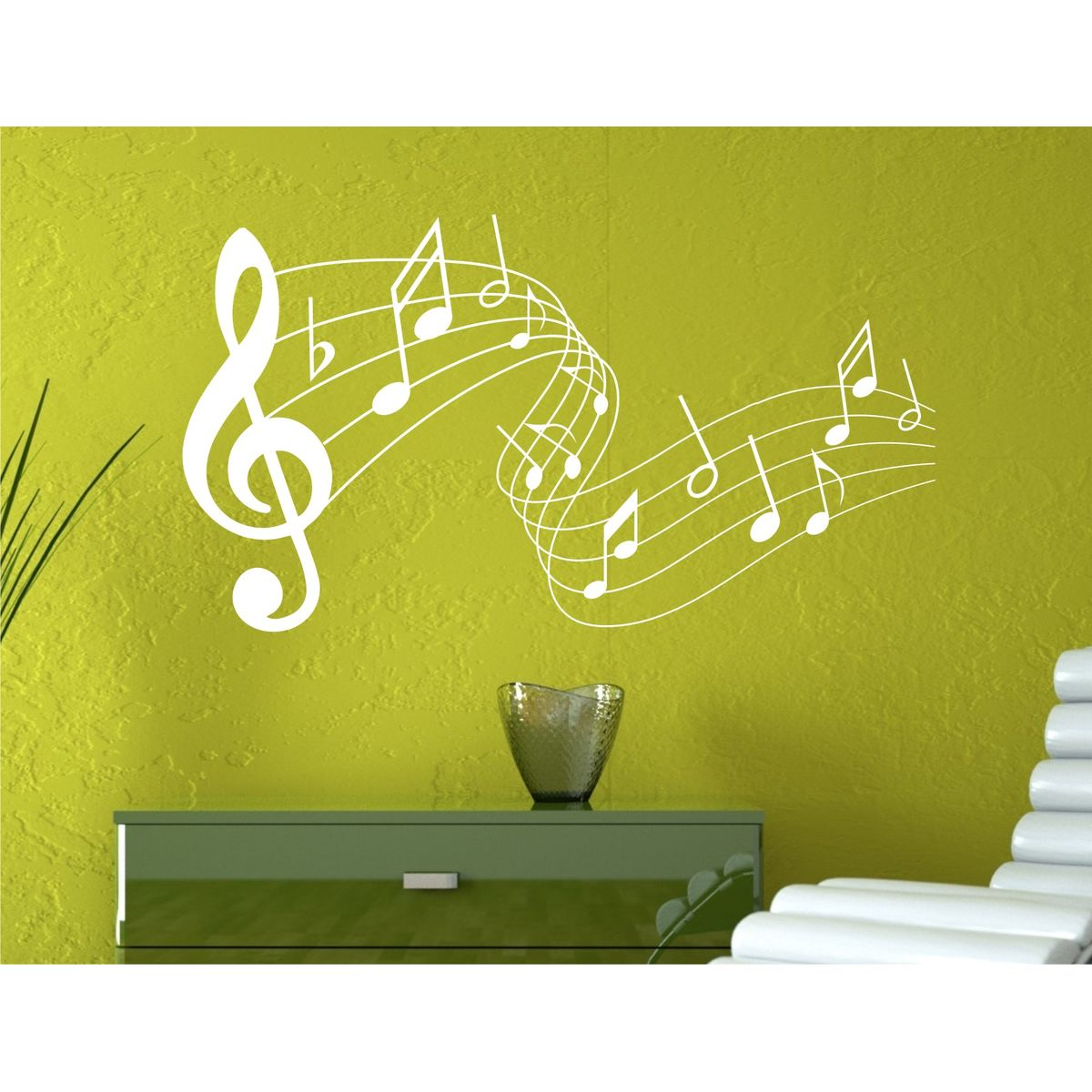 Great Wall Art Music Notes Ideas - The Wall Art Decorations ...