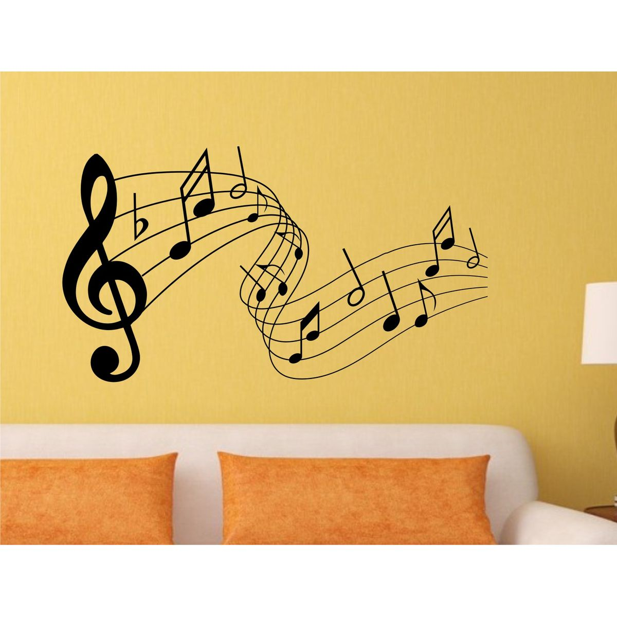 Wonderful Musical Notes Wall Art Ideas - The Wall Art Decorations ...