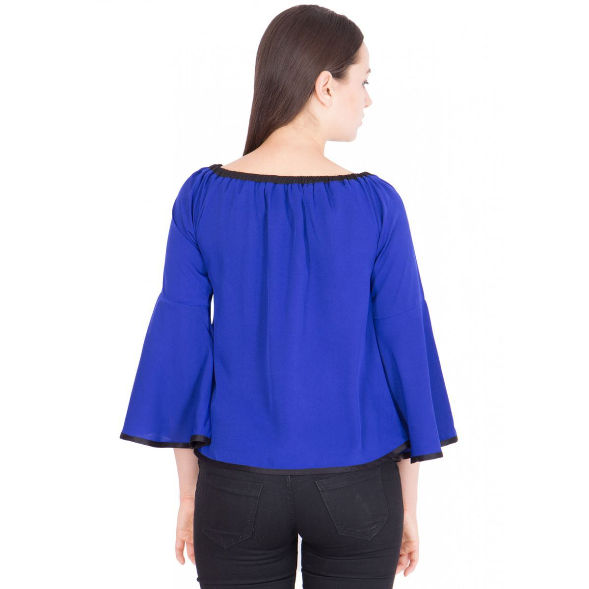 Khhalisi boat neck  Royal Blue
