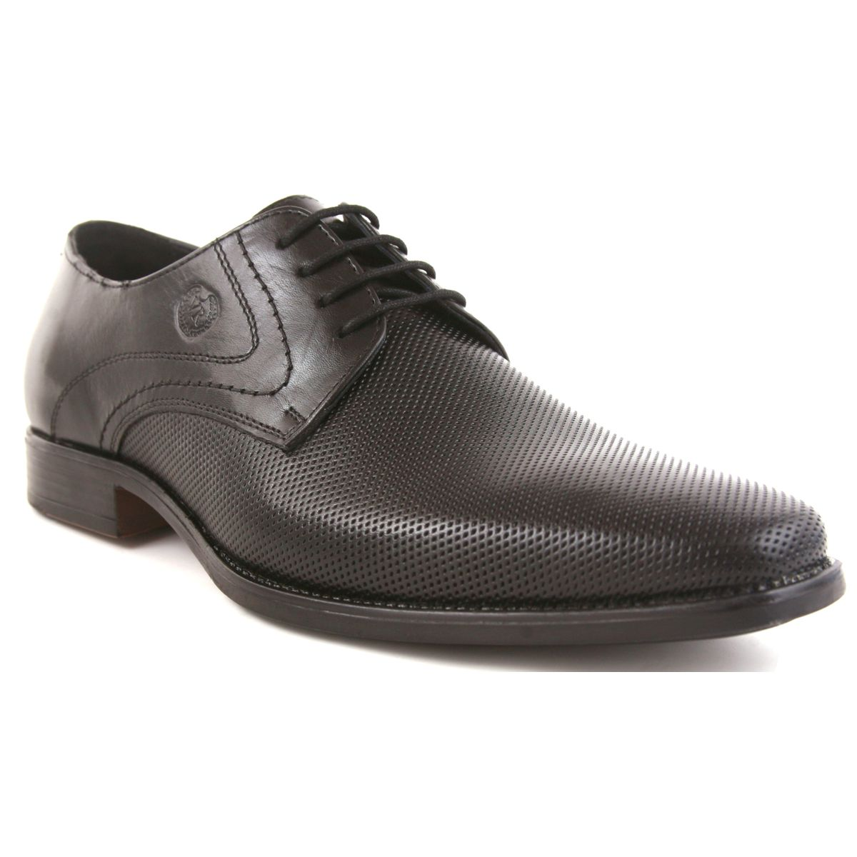 SCHUE MAKER Black Men Formal Shoes-109