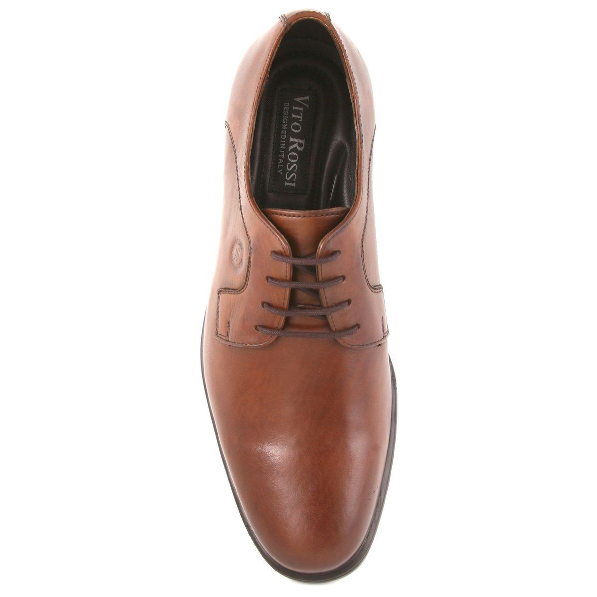 SCHUE MAKER Brown Extra Light Men Formal Shoes-106