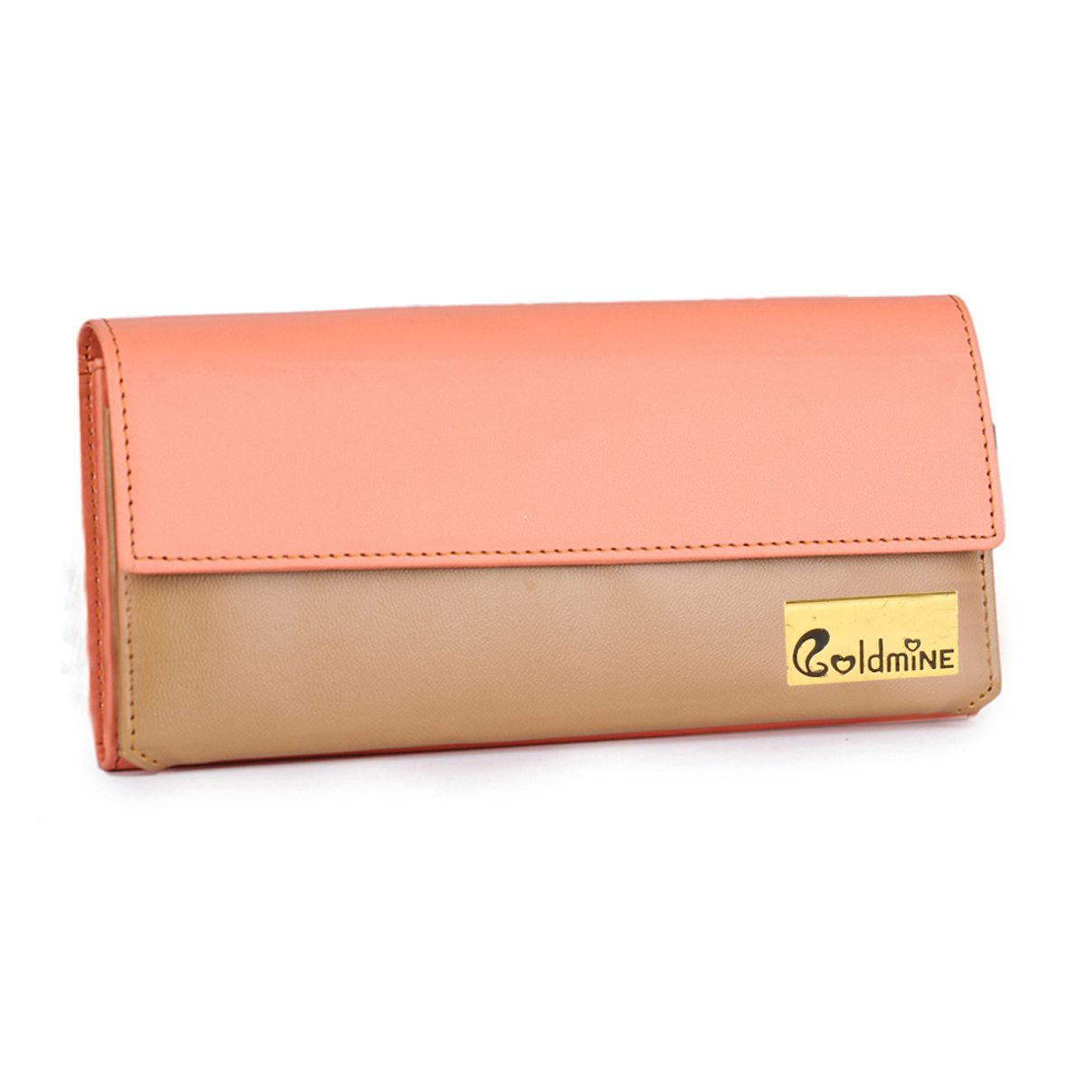 Goldmine Designer Hand Bag and Clutch Combo For Girls and Womens Multi Party Ware