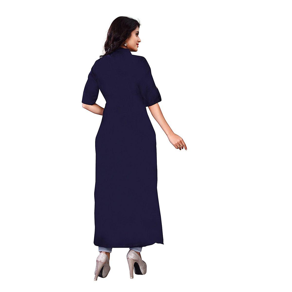 Kurti Womens Clothing Kurti for Women Latest Designer Wear Kurti Collection in Latest Kurti Beautiful Bollywood Kurti for Women Party wear Offer Designer Kurti-B0788BS43S