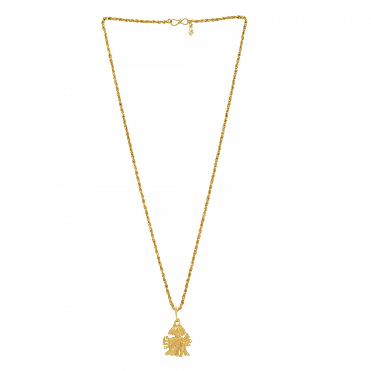 Buy memoir gold plated panchmukhi hanuman at lowest price memoir gold plated panchmukhi hanuman bajrang bali hindu god pendant temple jewellery chain pendant necklace jewellery aloadofball Images