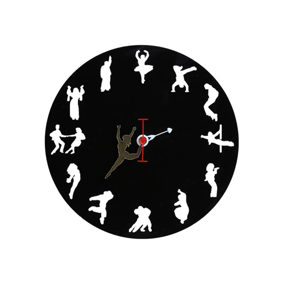 I LOVE DANCING WALL CLOCK