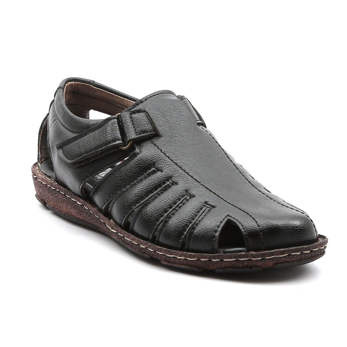 Ajanta Men s Classy Sandals - Black