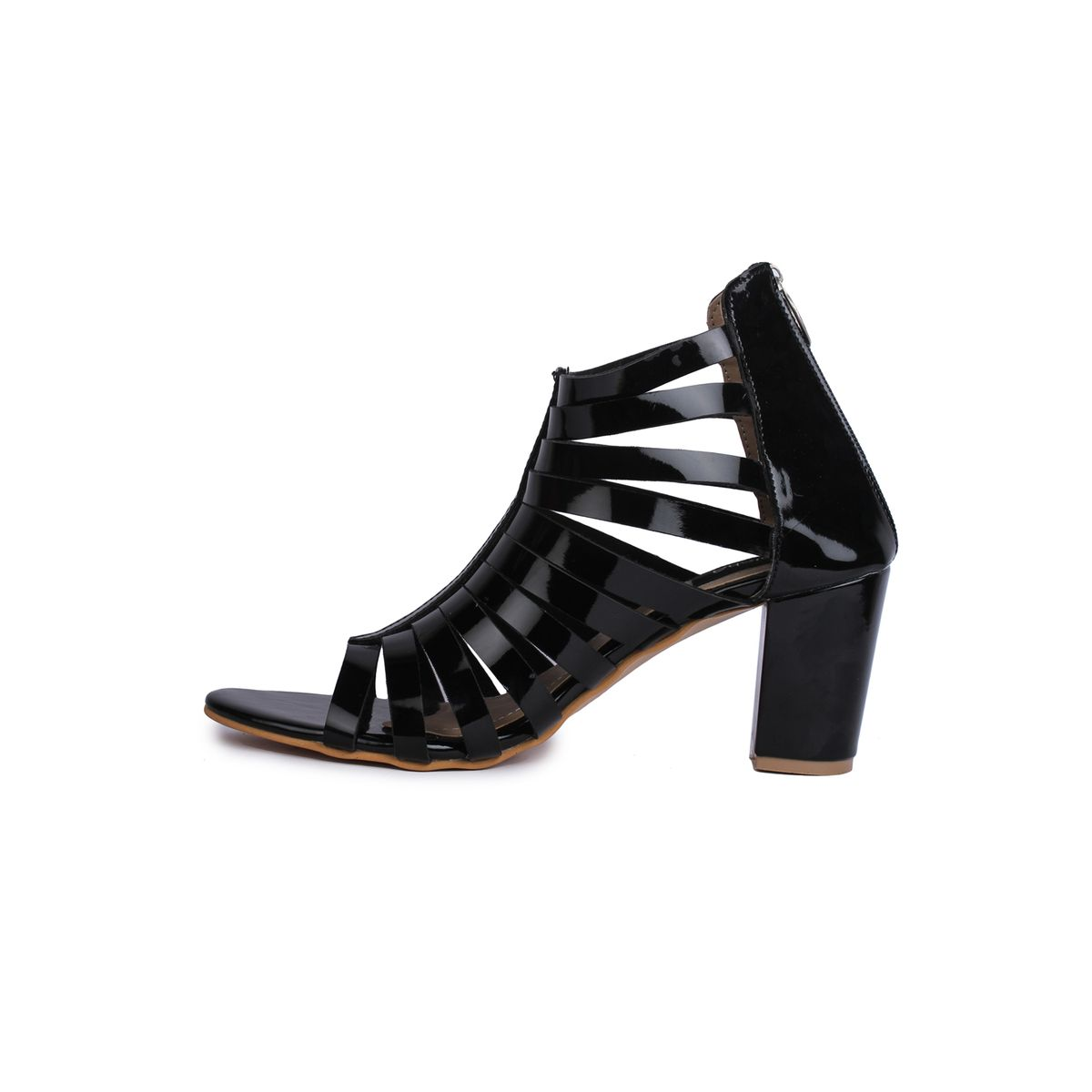 Naisha Stilettos  Heels For Womens Sc-Kh-602-Black-352