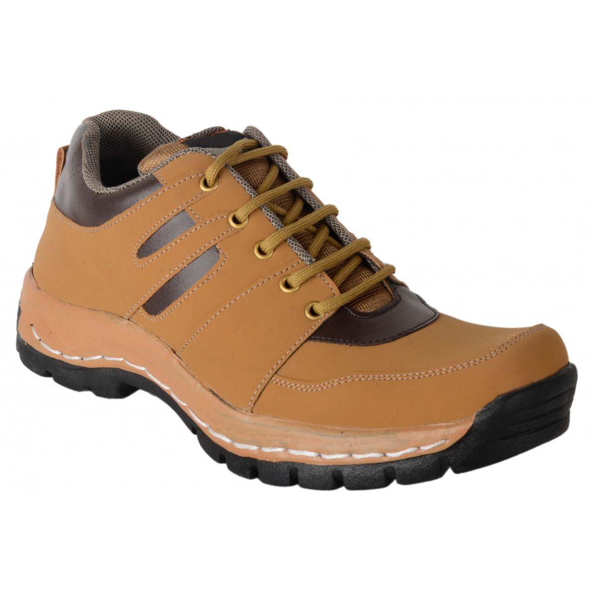 Ryko Mens Brown Low Ankel Boot