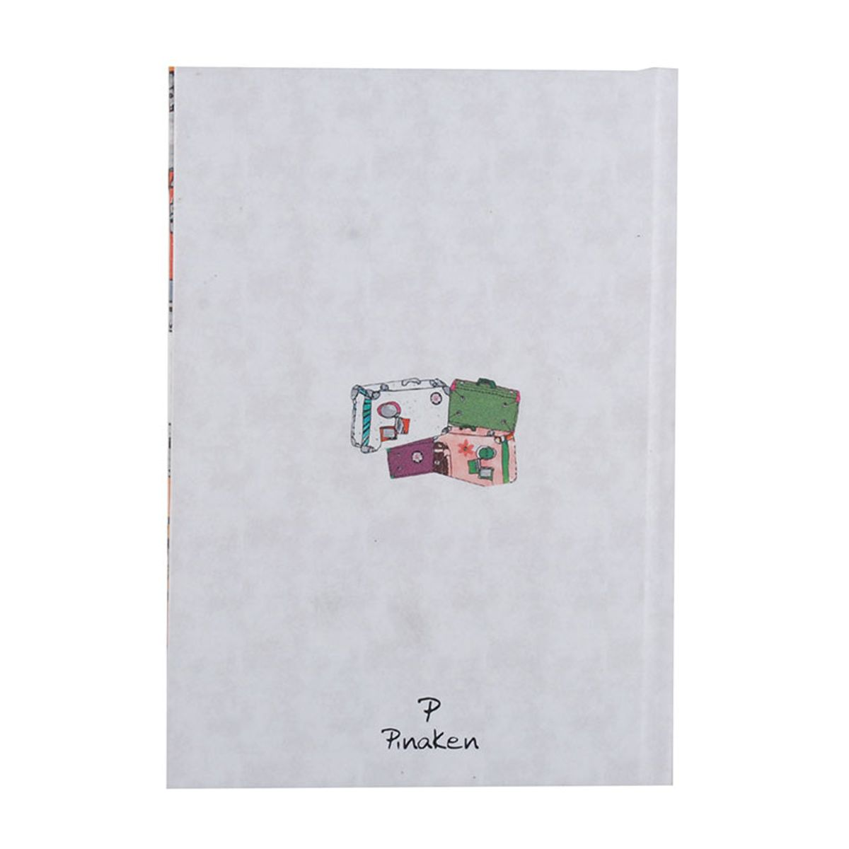 Pinaken Notes De Voyage Multicolor Luxury Flexible Paper Cover Notebook 7x5
