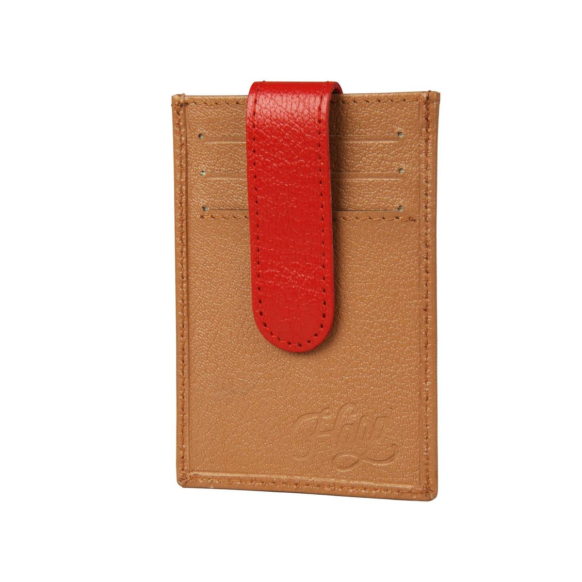 Harp Harp biege Color Leather Material Wallets