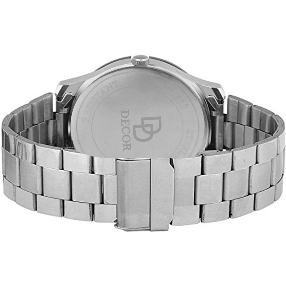 Decor Analog Grey Dial Mens  Boys Watch-CHN-1-SLVR- D16