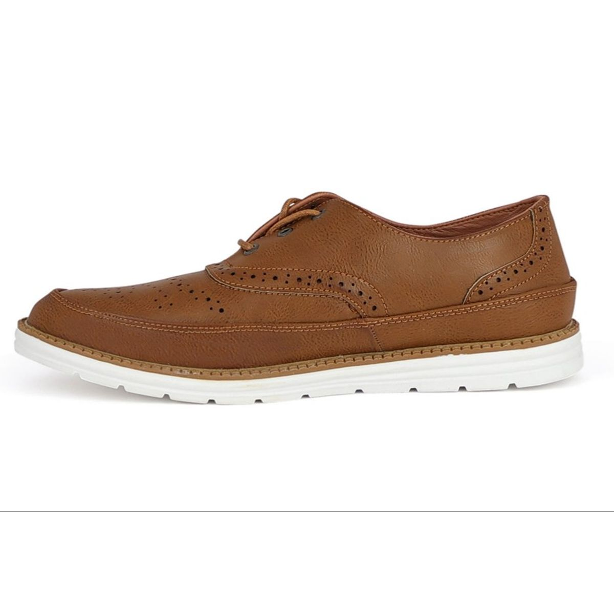 Calzari Semi-Casual Tan Men Shoes