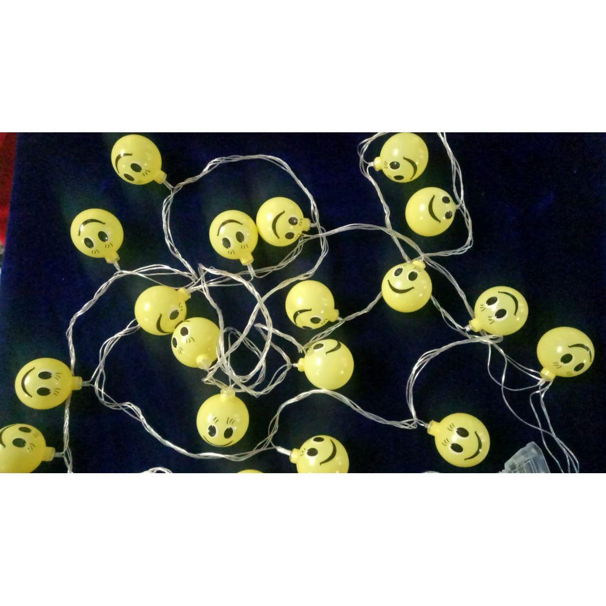 Smiley led emoji string light