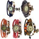 Vintage Bracelet Watch set of 5 - Combo