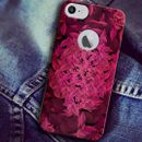 Apple iphone 6 With Cut Jeans 99 Texture Colorful Designer Unique Designer Mobile Back Cover Case India PBDTEXT-1000