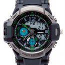 Chronoghraph Black Digital-Analog Watch