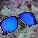 stylish looking blue n black sunglasses for men