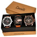 Cavalli Analogue Multi-Colour Dial Men'S And Boy'S Watch-Combo Of 3 Exclusive Watches-CW285