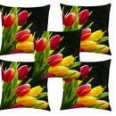 Home Diva Digital Printed Cushion Cover Set of 5_Homediva27
