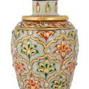 Kamakshi Art Marbal Vase (Pot)